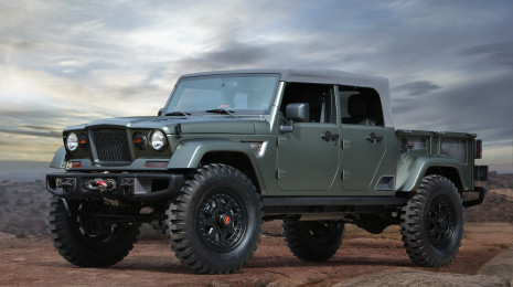 Jeep® Crew Chief 715 Concept